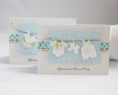 Odskocznia vairatki: Zaproszenia na Chrzest Diy And Crafts, Paper Crafts, Baby Frame, Envelope Design, Marianne Design, Baby Cards, Cardmaking, Birthday Cards, Place Card Holders