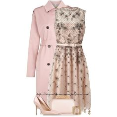 """VALENTINO Dress"" by stay-at-home-mom on Polyvore"