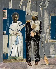 Romare Bearden (American, 1911-1988). Black Manhattan, 1969. Collage