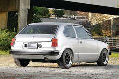 1979 260HP Honda Civic Rear photo