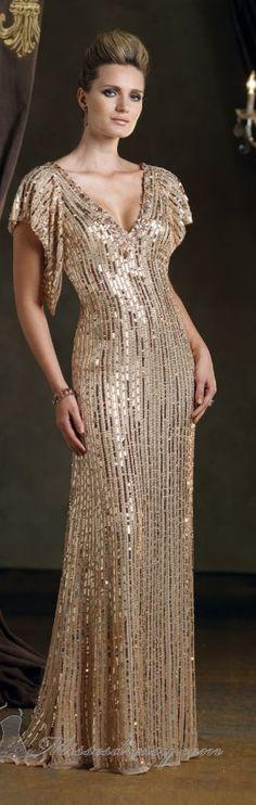 Mon Cheri couture decote e vestido maravilhoso