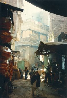 A typical street view at Peshawar City. Claude Monet, Bagdad, Photo Awards, Environment Concept, Gothic Architecture, Photo Reference, Vincent Van Gogh, Incredible India, Historical Sites