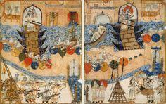 Le siège de Bagdad par les Mongols en1258 - Empire mongol — Wikipédia