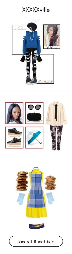 """""""XXXXXville"""" by disabledpaladin on Polyvore featuring WearAll, Keds, Converse, The Pearl Quarter, Phase Eight, H&M, STELLA McCARTNEY, Hunter, Quay and Karen Millen"""
