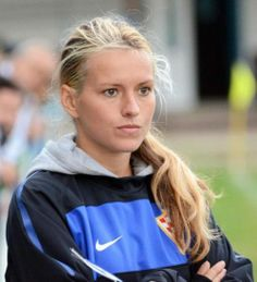 This is Tihana Nemcic. A Croatian model who became a men's football coach… she's amazing! #amazing #model #diverse #beautiful #sexy #hot #soccer #football #croatian #wonderful #amazing #blonde