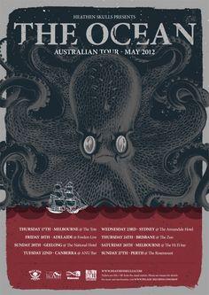 The Ocean Australian Tour - Details at http://www.bombshellzine.com/blog/2012/04/the-ocean-announce-australian-tour-dates/