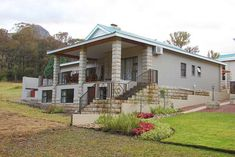Barrister House - Clarens Accommodation. Built In Braai, Golf Estate, Built In Cupboards, Free State, High Back Chairs, Mountain Bike Trails, Outdoor Tables, Luxury Bath, Maine House