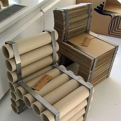 30 Amazing Cardboard DIY Furniture Ideas, some of them are absolutely incredible!