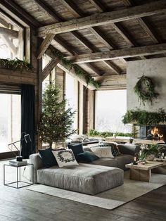 Home Interior Design .Home Interior Design Style At Home, Hm Home, Home And Deco, Rustic Interiors, Home Fashion, Home Interior Design, Interior Design Farmhouse, Contemporary Interior, Room Interior