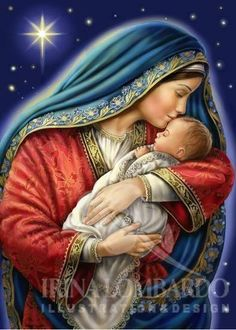 Jesus And Mary Pictures, Mother Mary Images, Images Of Mary, Mary And Jesus, Jesus Mother, Blessed Mother Mary, Blessed Virgin Mary, Baby Jesus, Religious Pictures