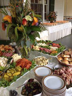 Vinwood Caterers antipasto table