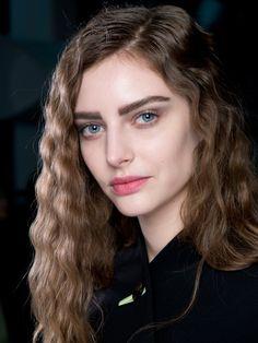 Giorgio Armani Milan fashion week aw14 - autumn/winter 2014 hair makeup beauty trends - backstage beauty report - cosmopolitan.co.uk