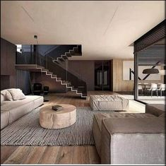 99 fabouls modern house interior ideas that you must see - Modern House Plans - Four Cool Features All these four popular features can be seen in house plans. Some modern innovations within this discipline enable Contemporary Interior Design, Modern House Design, Home Interior Design, Interior Architecture, Interior Decorating, Interior Ideas, Loft Design, Amazing Architecture, Modern Living Room Designs