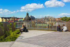 Takpark på Sveavägen 44 - Skandia Fastigheter Stockholm, Deck, Outdoor Decor, Sweden, Home Decor, Homemade Home Decor, Front Porches, Decks, Decoration Home