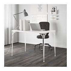 """FALKHÖJDEN Desk, white - 43 1/4x25 5/8 """" - IKEA"""