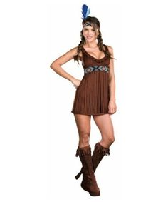 Tribal Trouble Adult Costume - Halloween Indian Costumes