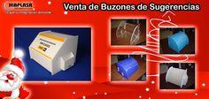 Ultimos días de DICIEMBRE de PROMOCIONES Y DESCUENTOS ¡Venta de Buzones de Acrílico! Contáctenos: Visite nuestra web: http://maplasa.com/productos/buzon-sugerencias/Venta-de-Buzones-de-Sugerencias-en-Chihuahua.php O llámenos al número: +52(614) 410-5822