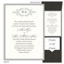 Prince william and kate middleton royal wedding invitations cecilia folio pocket wedding invitations stopboris Images