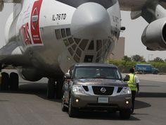 Motorpasión - Nissan Patrol, récord mundial en remolcado de aviones