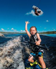 WEBSTA @ gopro - Photo of the Day! keeping it in the family as he rips it with his son, Kien! # Image via Share your family passion with us via link in bio! Action Photography, Photography Sites, Photography Equipment, Portrait Photography, Wedding Photography, Best Workout Routine, Surfer Boys, Sup Surf, Lake Life