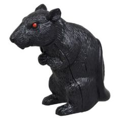 """2- 3""""Spooky Motion Sensing Squeaking Rats Halloween Fun Decorating Fast Shipping"""