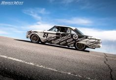 Tune in to Fast N' Loud on Discovery Channel tonight at 9:00pm ET (8:00pm CT) to see Aaron prep his '63 Ford Falcon on Forgeline GW3 wheels for the Pikes Peak International Hill Climb. And also something about a new pace truck project, too? See more of Aaron's Falcon in the Forgeline gallery at: http://www.forgeline.com/customer_gallery_view.php?cvk=1123  Photo courtesy of Rockit West Mediaworks. #Forgeline #GW3 #notjustanotherprettywheel #madeinUSA #Ford #Falcon #FastNLoud