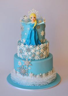 My LAST Frozen cake! by ArchiCAKEture