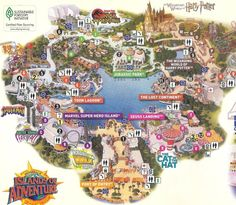 Would LOVE to see the Harry Potter Land at Universal Studios Orlando Universal Studios Orlando Map, Orlando Studios, Universal Studios Harry Potter, Universal Parks, Harry Potter Theme Park, Harry Potter World Rides, Harry Potter World Florida, Disney World Vacation, Disney Land Florida