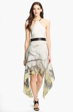 Milly Silk Trapeze Dress | Nordstrom