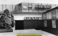 Fiesta Club (latterly the Odeon Cinema), between Arundel Gate and Pond Street Sheffield Pubs, Cinema Theatre, South Yorkshire, Theatres, Local History, Coventry, Heaven On Earth, Dementia, Childhood Memories