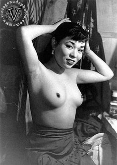 Vintage asian nude japanese girl that necessary
