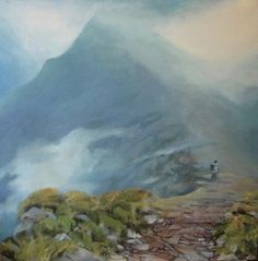 Pen-y-fan - oil painting