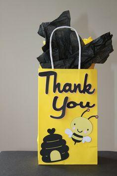 Bumble Bee Treat Goody Bag by KellyKrockerKreates, $3.00