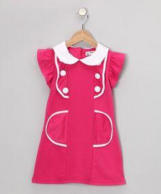 Hot Pink Sailor Dress