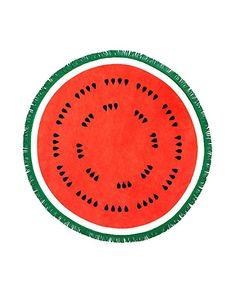 ban.do Women s All Around Giant Circle Beach Towel (watermelon) Circle  Beach Towel 9f855f26b43e9
