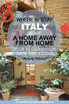 Travel Italy Rome Colosseum Unique Accommodation Airbnb Hotel 23