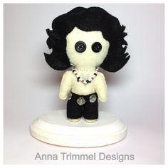 Handmade Jim Morrison collectible felt figurine OOAK soft sculpture on Etsy, $50.00