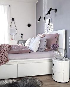 Bedroom Inspo ✨ The beautiful bedroom of @kajastef 🙌 Love Klara's style! 😍