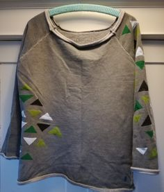 Loni Kreativwerkstatt / Sweatshirt #grafik #upcycling #refashion #print