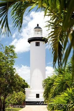Rincon #Lighthouse in Rincon, #Puerto #Rico http://dennisharper.lnf.com/