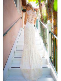 portrait back wedding dress