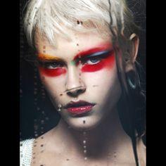 Beauty,makeup,eyes,Please Magazine , photography by David Ferrua
