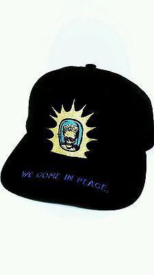 623394e594f Vintage mars attacks warner bros studios curved brim snapback hat adj vtg  1996