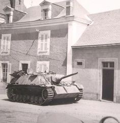"supermarketsecurity:  Jagdpanzer IV L/48 ""212"", SS-Pz.Jg.Abt. 17, Vaiges, France."