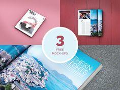 Freebie: Magazine Mockups - Freebbble