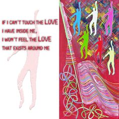 If I can't touch the love I have inside me, I won't feel the love that exists around me.  Quote from the book : Invisible souls, unhappy happinesses Read a sample of my book here : https://goo.gl/C173ea  #angelosm #books #mybook #publications #quotes #quote #quoteoftheday #art #artquotes