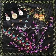 Sew So Crazy!©: Feather stitch for Rothwell workshops and seam treatments additions by the Maleny workshops