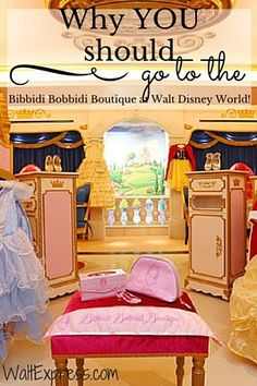 Bibbidi Bobbidi Boutique: A Disney World Review