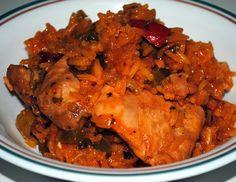 Caribbean Rice With Chicken (arroz con pollo)