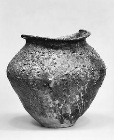 Storage Jar. 12th century Japan. Stoneware. Gift of Mary Briggs Burke. Met Museum.